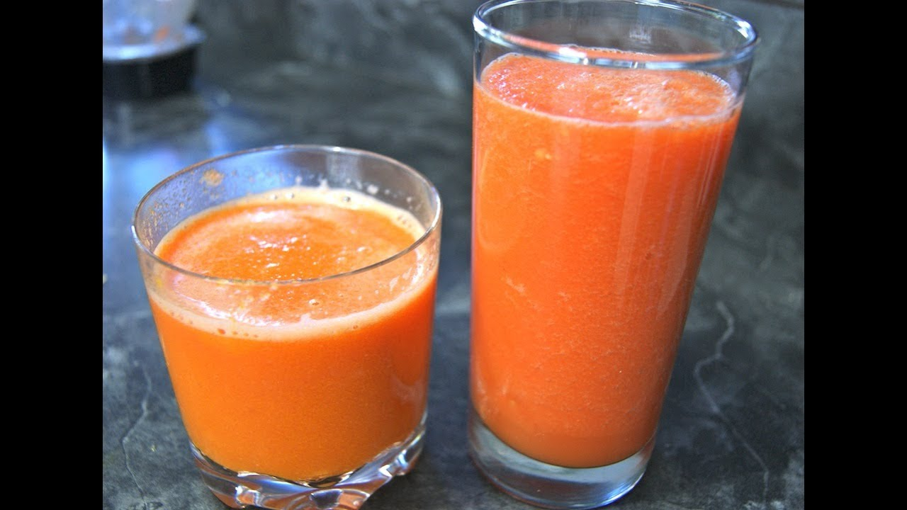 carrot tomato juice and benefits - anti oxidant rich