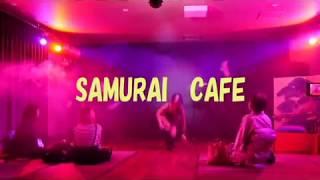 大阪出现新式夜生活!SAMURAI CAFE