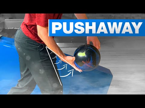 How To Bowl Strikes By Improving How You Push Away The Bowling Ball   Bowling Tips   Brad and Kyle