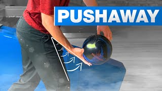 How To Bowl Strikes By Improving How You Push Away The Bowling Ball | Bowling Tips | Brad and Kyle