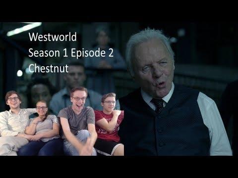 "Westworld Reaction Season 1 Episode 2 ""Chestnut"" S01 E02"