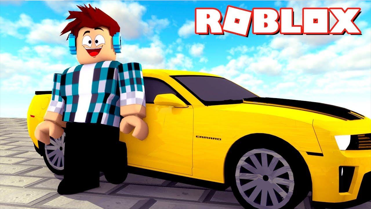 Roblox - COMPREI UM CAMARO AMARELO !! - YouTube