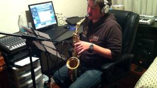 Smoke gets in your eyes cover sax alto