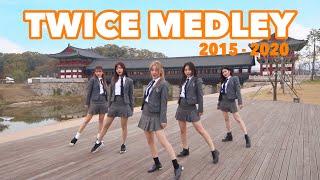 Download lagu 【TWICEメドレーダンス】TWICE MEDLEY Dance Cover (2015~2020) 制服で踊ってみた!in 慶州   Yu Kagawa