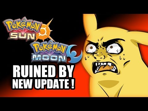 Pokemon Sun & Moon RUINED By New Update!