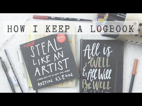 How I Keep A Logbook | Walk-Through Tips & Ideas