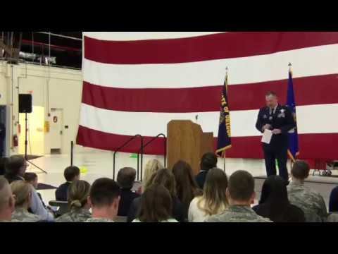 50 Year Lease Ceremony For 173rd Fighter Wing, Kingsley Field [FB LIVE]