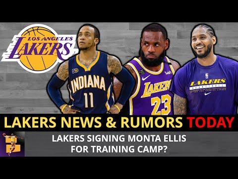 Los Angeles Lakers Rumors On LeBron James & Carmelo Anthony + Should Los Angeles Sign Monta Ellis?