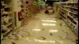 TERREMOTO CHILE 2010   SUPERMERCADO LIDER LAS REJAS