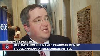 Rep. Matthew Hill named chairman of new House Appropriations Subcommittee