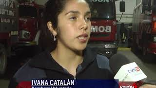 17 09 18 IVANA CATALAN Bomberos Voluntarios   Salidas durante los últimos días