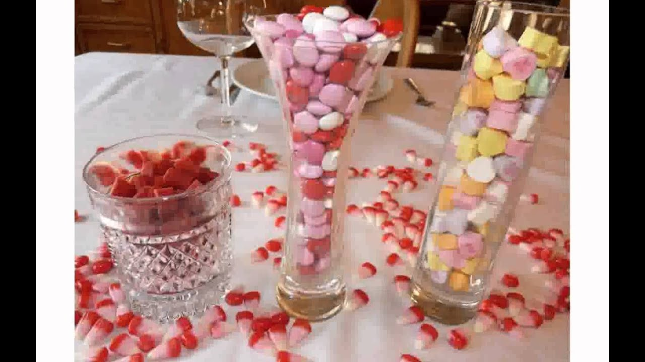 Simple Table Decorations - YouTube on