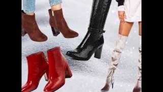 видео Модные женские ботинки сезона весна 2017 года