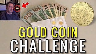 Gold Coin Challenge by Another OverTaxed TaxPayer   Philharmonic, Maple Leaf, American Eagle Stack