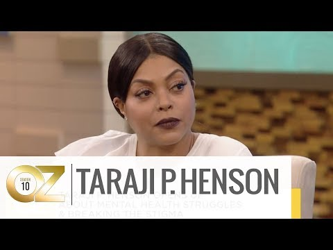 Why Taraji P. Henson Values Mental Health Awareness