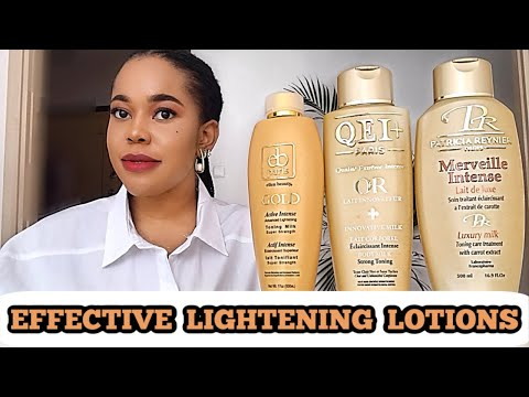 THESE SKIN LIGHTENING LOTIONS WILL GET YOU LOOKING YOUR BEST. Highly requested recommendations🥰💯