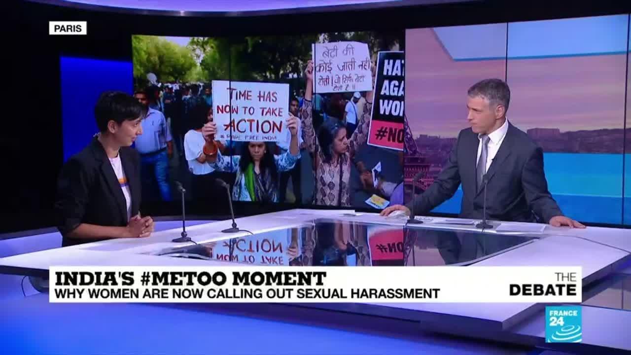فرانس 24:#MeToo: ''France should be looking at India's new wave feminism' movement'