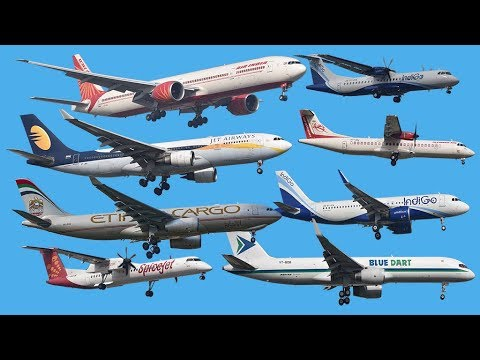 Plane Spotting at Chennai, India - 26 movements in 8 minutes! [4K]