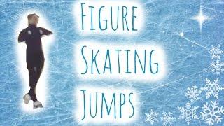 Figure Skating Jumps !