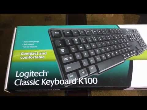 Logitech Classic Keyboard K100 - Review [HD]