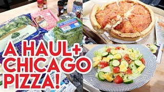 🎄 VLOGMAS 2019 DAY 30! 🛒 WALMART PICKUP HAUL + WEIRD SUBSTITUTIONS 🍕 DEEP DISH PIZZA FROM CHICAGO