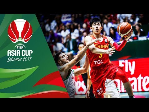 HIGHLIGHTS: China vs. Lebanon (VIDEO) 5th Place / FIBA Asia Cup 2017