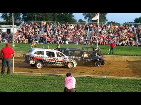 2013 Lebanon Fair Demo Derby SUV/Van Heat