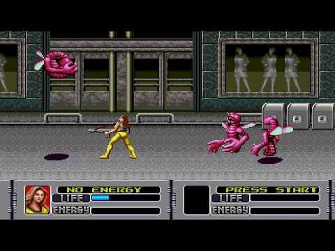 SEGA Mega Drive Classics Collection, Alien Storm Gameplay PS4 thumbnail