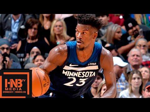 San Antonio Spurs vs Minnesota Timberwolves Full Game Highlights | 10.17.2018, NBA Season
