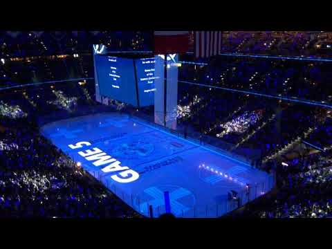 Tampa Bay Lightning Opening Pregame 5/19/18 vs Washington Capitals Eastern Conference Finals Game 5