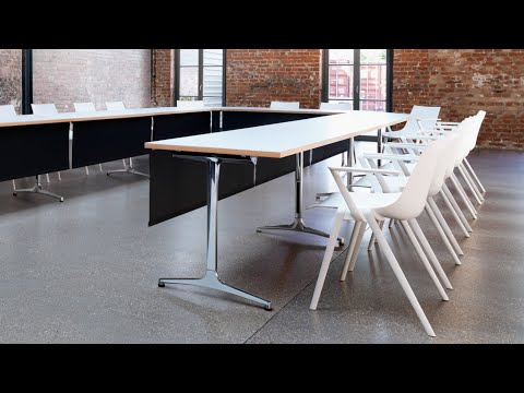 Wilkhahn stackable chair Aula - Making of video