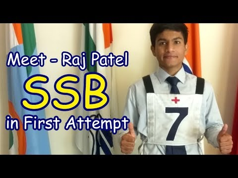 How To Crack NDA-  -Meet Raj Patel Cleared-ssb Crack In First Attempt