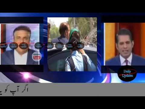 Daniyal Aziz & anchor Shahzad Iqbal Fight in Live Talk Show   Pakistani Talk Shows   Panama Papers