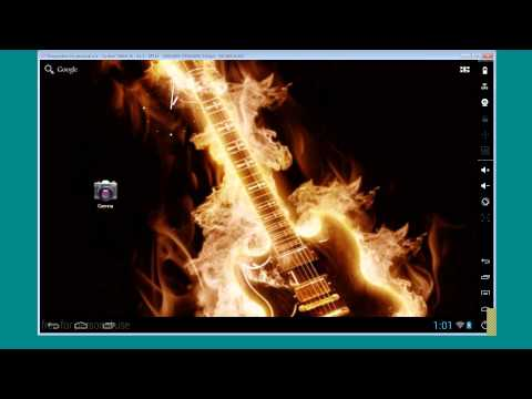 How to Use Burning Guitar HD Wallpaper