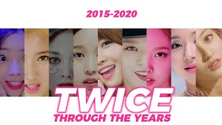 TWICE (트와이스): THROUGH THE YEARS (2015-2020)