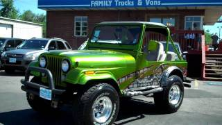 family trucks and vans 1978 jeep cj4 stock b21259