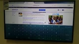 Samsung Smart Tv Browser Test