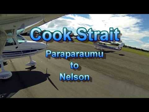 Cook Strait :  Paraparaumu to Nelson
