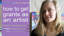 How to get grants as an artist