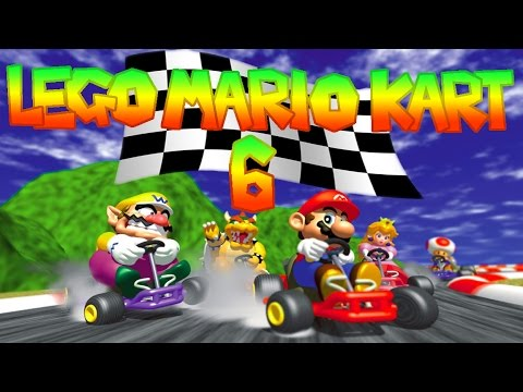 lego mario kart 6 youtube. Black Bedroom Furniture Sets. Home Design Ideas