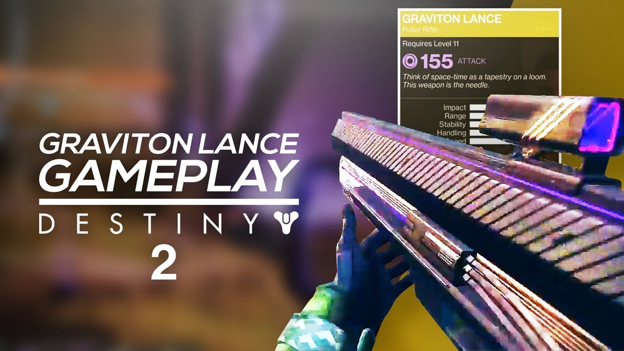 Destiny 2 Exotic Graviton Lance Gameplay Void HardLight Returning Exotics More