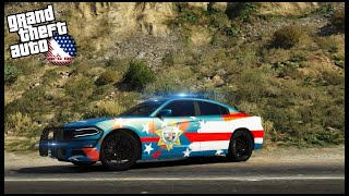 GTA 5 ROLEPLAY - MOST AMERICAN DODGE CHARGER COP CAR EVER!! - EP. 986 - AFG -  LEO