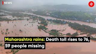 Maharashtra Rains: Death Toll Rises To 76, Over 59 Missing