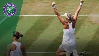 Karolina Pliskova vs Kiki Bertens 4R Highlights | Wimbledon 2018