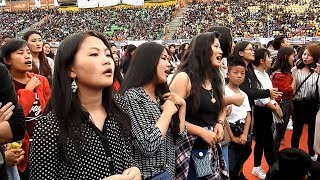 First Ever K-POP Concert in Thimphu Bhutan - 17 June 2017