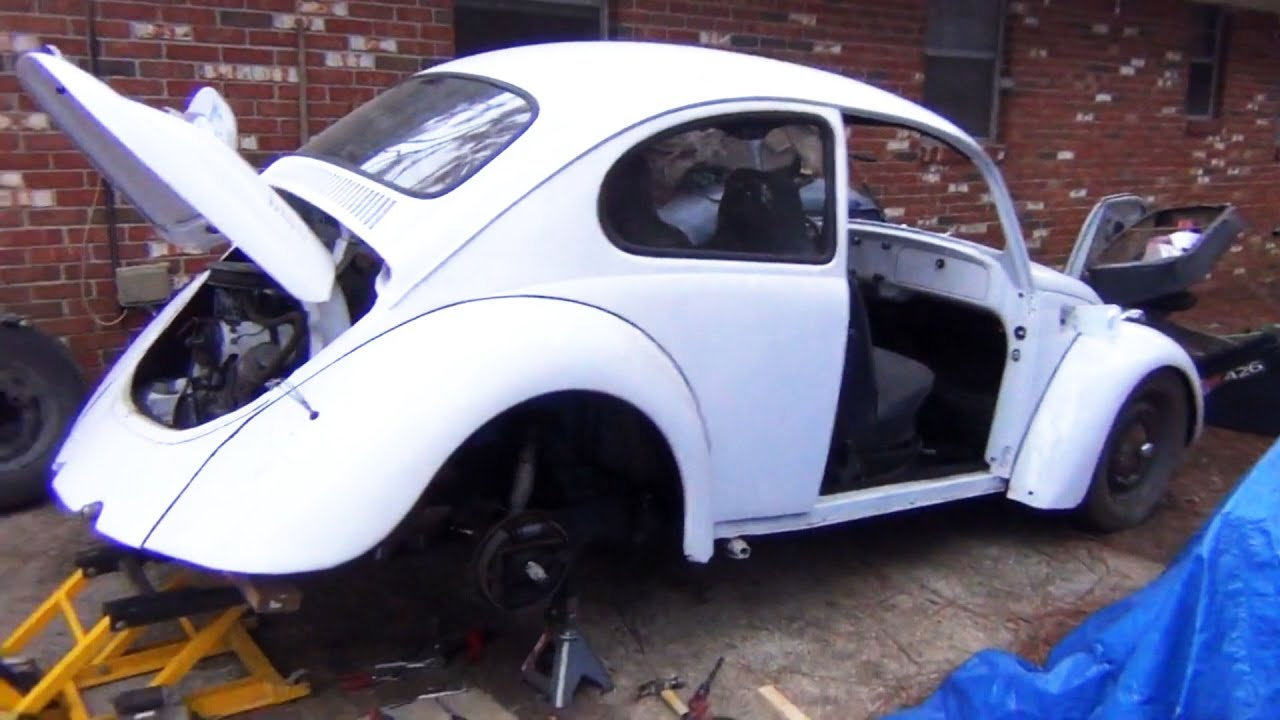 73 VW Beetle Restoration - Update 7 - YouTube