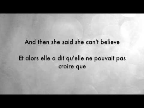 Northern Downpour - Panic! At The Disco Lyrics English/Français