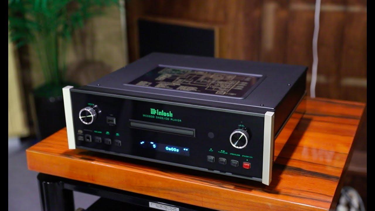 Đầu Mcintosh MCD 600 - Audio Thiên Hà - YouTube