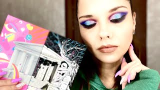 Яркий макияж с палеткой NIKKIETUTORIALS X BEAUTY BAY