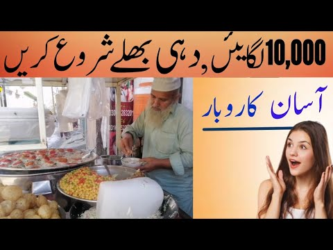 How to start dahi bhale shop | dahi bhale business idea | business news | business ideas | moon shah